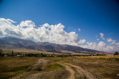 Schönes Kirgizstan Lizenzfreie Stockfotos
