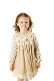 Schönes kleines Mädchen lizenzfreies stockbild