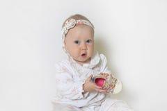 Schönes kleines Mädchen Stockbild