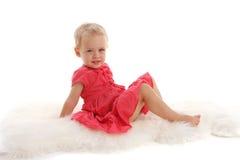 Schönes kleines Mädchen 7 stockbild