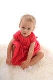 Schönes kleines Mädchen 9 lizenzfreies stockfoto