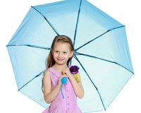 Schönes kleines Mädchen 5-6 Jahre Lizenzfreie Stockfotografie
