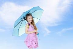 Schönes kleines Mädchen 5-6 Jahre Stockbild