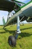 Schönes kleines Passagierflugzeug Lizenzfreie Stockfotos