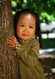 Schönes koreanisches Mädchen Stockbilder