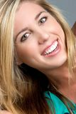 Schönes Lächeln lizenzfreie stockfotos