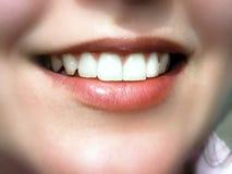 Schönes Lächeln Stockfoto