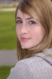 Schönes Lächeln durch Woman Lizenzfreies Stockfoto