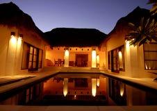 schönes Landhaus Stockbilder