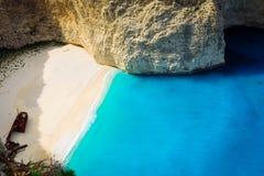 Schönes lanscape von Zakinthos-Insel lizenzfreies stockfoto
