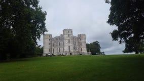 Schönes Lulworth-Schloss in dorest England stockfotografie