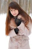 Schönes Mädchen der Portraits   Lizenzfreie Stockbilder