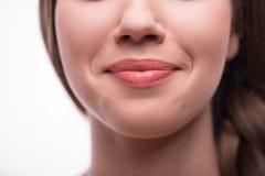 Schönes Mädchen drückt verschiedene Gefühle aus Lizenzfreie Stockbilder