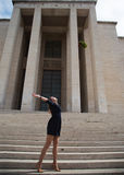 Schönes Mädchen graduiert Lizenzfreies Stockfoto