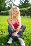 Schönes Mädchen im Freien Lizenzfreie Stockfotografie