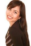 Schönes Mädchen-Lächeln Lizenzfreies Stockfoto