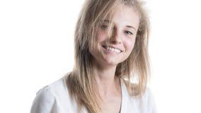 Schönes Mädchen mit einem Lächeln Lizenzfreie Stockfotografie