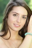 Schönes Mädchen-Portrait Lizenzfreie Stockfotos