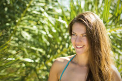 Schönes Mädchenlächeln Lizenzfreie Stockfotografie