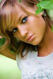 Schönes Mädchenportrait Stockfoto