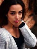 Schönes marokkanisches Mädchen in Padua Lizenzfreies Stockfoto