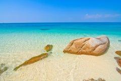 Schönes Meer stockbild