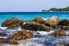 Schönes Meer bei Thailand Lizenzfreies Stockbild