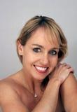 Schönes Mittler-Alter blondes Headshot (6) Stockbilder