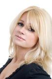 Schönes mittleres gealtertes blondes Frauenportrait Lizenzfreie Stockfotos