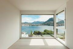 Schönes modernes Haus, Raum lizenzfreie stockfotos