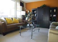 Schönes modernes Wohnzimmer Stockfotos