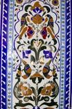Schönes Mosaik in der indischen Art Stockfotografie