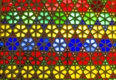 Schönes Mosaik in der indischen Art Stockfotos