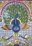 Schönes Mosaik in der indischen Art Lizenzfreie Stockfotografie