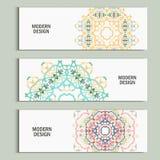 Schönes Muster des Vektormusters auf Druckerzeugnis Entwerfen Sie für Bücher, Fahnen, Seitenwerbung Lizenzfreie Stockfotografie