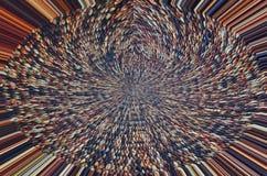 Schönes Muster von Mattenstrahlen von der Mitte Stockbilder
