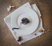 Schönes Nachtischmuffin Stockfoto