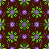 Schönes nahtloses Blumenmuster Lizenzfreie Stockbilder