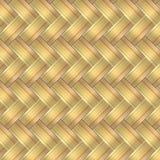 Schönes nahtloses Goldhintergrund-Formdesign Lizenzfreies Stockbild