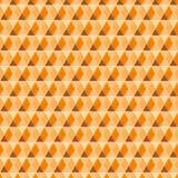 Schönes nahtloses Hexagon mit Linie Wellenmuster Stockfotos