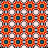 Schönes nahtloses Muster Dekorative Elemente Auch im corel abgehobenen Betrag Stockfotografie