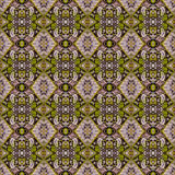 Schönes nahtloses Ostteppichdekorationsmuster, abstrakte Verzierung von um und Quadrat oder Rautenelemente Das Beschaffenheit bac Stockfoto