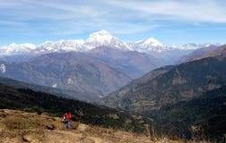 Schönes Nepal Stockbilder