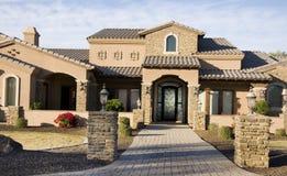 Schönes neues Haus Lizenzfreie Stockfotografie