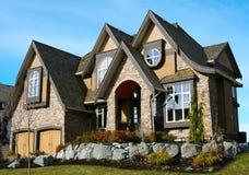 Schönes neues Haus Lizenzfreie Stockbilder