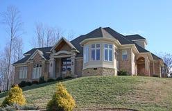 Schönes neues Haus Lizenzfreies Stockfoto