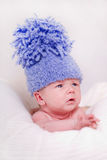 Schönes neugeborenes Schätzchen Stockbilder
