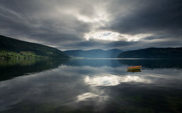 Schönes Norwegen Lizenzfreie Stockbilder
