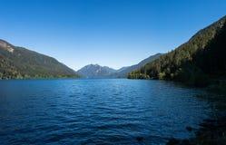 Schönes Panorama des See-Halbmonds, Washington Lizenzfreie Stockfotos