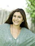 Schönes Portrait der jungen Frau lizenzfreies stockfoto